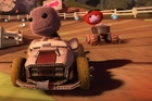 Sackboy's motoring adventures are coming to the PlayStation 3. Photo / Supplied