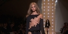 Watch: Versace focuses on the cut with an underlying lingerie spirit
