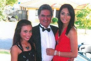 Former Rotorua man Ronnie Ransfield (pictured) and his wife Jennifer have spent years and thousands of dollars trying to prove they are the parents of Tania Ransfield, 18 (right). Photo / Daily Post