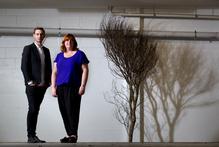 Tim McKeown and Davina Prankerd. Photo / Steven McNicholl