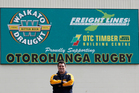 Manager and co-coach Steve Wilshier played about 400 games for Otorohanga as a lock. Photo / Christine Cornege.