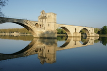Pont d'Avignon on the Rhone river. Photo / Getty Images
