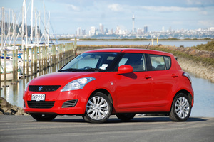 Suzuki Swift diesel is a tiny car which packs a mighty punch. Photo / Jacqui Madelin