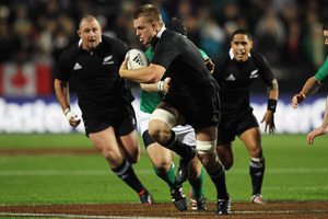 Sam Cane of the All Blacks. Photo / Getty Images