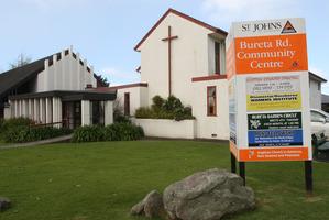 St John's Anglican Church in Tauranga, where cleaner Gabriel Darren Te Huia stole donated money. Photo / Joel Ford