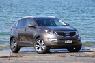 Kia's head of design Peter Schreyer has ensured the Sportage has appealing looks. Photo / David Linklater