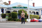 Geoff Houtman says the 1905 building is part of Herne Bay's cultural heritage.  Photo / Chris Gorman