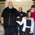 Kim Dotcom and his wife Mona leave after attending Question Time in Parliament. Photo / Mark Mitchell