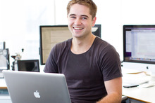 Tyler Power, co-founder of Christchurch software company Appsecute. Photo / Supplied