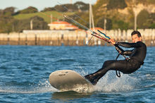 Dave Robertson expects conditions at the World Championships in Italy to be similar to those at Takapuna Beach.