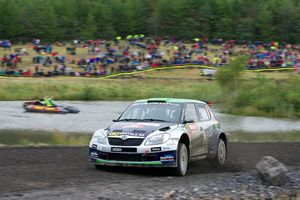 Paddon's run of bad luck continued in Wales. Photo / Honza Fronek