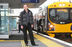 Rob Askew was amazed by the post-Britomart turnaround in rail commuting. Photo / Chris Gorman