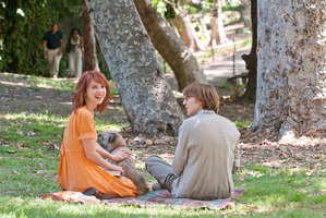 Zoe Kazan, left, and Paul Dano in a scene from Ruby Sparks. Photo / Supplied