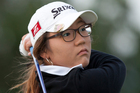 Lydia Ko is off the pace of runaway leader Jiyai Shin after the second round of the women's British Golf Open, however she is still easily ahead as the leading amateur. Photo / AP