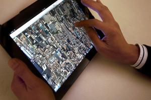 Apple's new maps app. Photo / AP