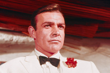 Sean Connery as Bond in Goldfinger. Photo / AP