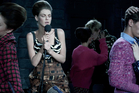The latest Prada ad campaign. Prada will show their latest spring/summer collection at Milan Fashion Week on Thursday.