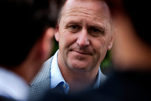 Prime Minister John Key is taking a two-day tour of the Chatham Islands for the first time since being elected. Photo / Chris Loufte