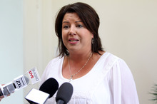 Social development minister Paula Bennett announced the second welfare bill in Parliament yesterday. Photo / NZ Herald