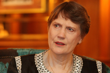 Former New Zealand Prime Minister Helen Clark went to a single-sex school. Photo / Greg Bowker