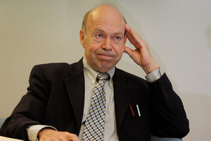 James Hansen, an ex-NASA scientist known as the 'father of climate change'. Photo / Sarah Ivey