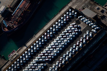 75,000 vehicles will be brought into New Zealand this year. Photo / Richard Robinson