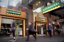Kathmandu profit fell to $34.9 million in the 12 months ended July 31, from $39 million a year earlier. Photo / Natalie Slade