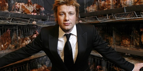 Jamie Oliver is said to be keen to extend his brand into New Zealand. Photo / File 