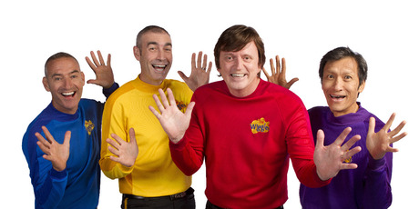 The original Wiggles; Anthony, Greg, Murray and Jeff.