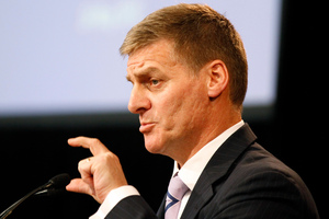 Finance Minister Bill English will attend six hui in ten days. Photo / Mark Mitchell