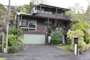 Alan Simpson's home in Hamilton. Photo / Herald on Sunday