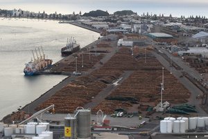 The Port of Tauranga to dredge shipping channel to reduce import/export transport costs. Photo / John Borren