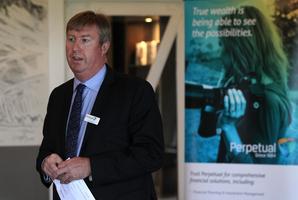 Perpetual chief executive Patrick Middleton. Photo / APN