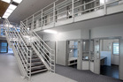A general view of inside the living quarters at the new Mt Eden Corrections Facility. Photo / NZPA
