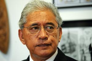 Te Ariki, Sir Tumu Te Heuheu. Photo / NZPA