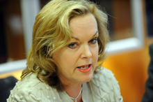 Justice Minister Judith Collins said the legislation was likely to apply to a 'very small number of extremely dangerous' people - between five and 12 offenders over 10 years. Photo / Ross Setford