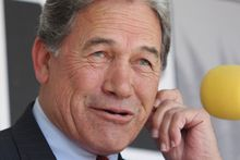 Winston Peters. Photo / Joel Ford 