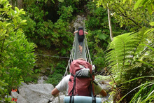 The Heaphy Track is even better when someone else does the cooking. Photo / Wairarapa Times-Age