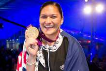 Olympic Gold medallist Valerie Adams. Photo