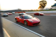 The largest number of Ferraris ever assembled in one place may have been reached, and they want an official world record for the effort. Photo / Suppied