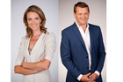 Petra Bagust and Rawdon Christie wake up with you on TV One's Breakfast show. Photo / NZ Herald