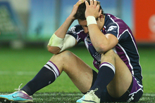 The Storm crashed out of the NRL finals last year after a preliminary final defeat to the Warriors. Photo / Getty Images