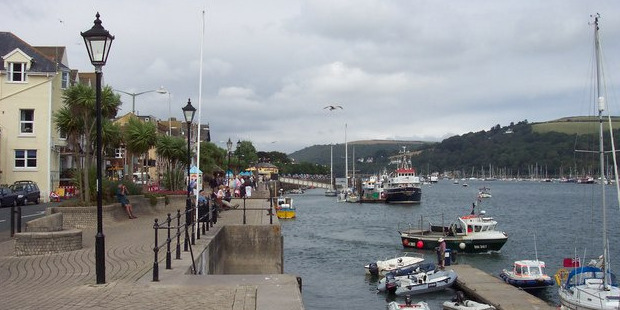 The South Devon town of Dartmouth. Photo / Creative Commons image by Wikimedia user Jonathan Billinger