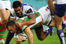 The Bulldogs and Rabbitohs clash at ANZ Stadium on Saturday. Photo / Getty Images