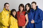 Jane Kiely and the contestants of Mitre 10 Dream Home in 2008. Photo / Supplied