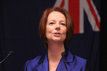 One newspaper's poll put Julia Gillard's Labor 50-50 with the conservative Coalition. Photo / Getty Images