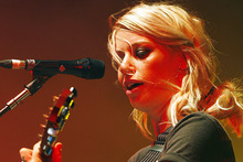 Kiwi music fans can vote for Gin Wigmore and Kimbra in the MTV European Music Awards. Photo / John Stone