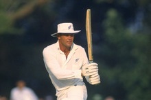 Martin Crowe batting for New Zealand.  Photo / Getty Images