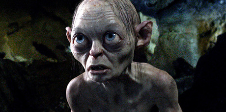 A new image from The Hobbit: An Unexpected Journey shows Gollum in action. Photo / AP