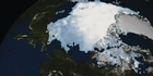 Watch: NASA  animation shows the Arctic sea ice melt